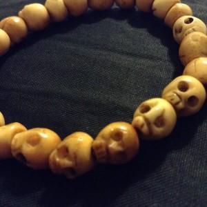 A death reminder bracelet I got from my local Tibetan shop